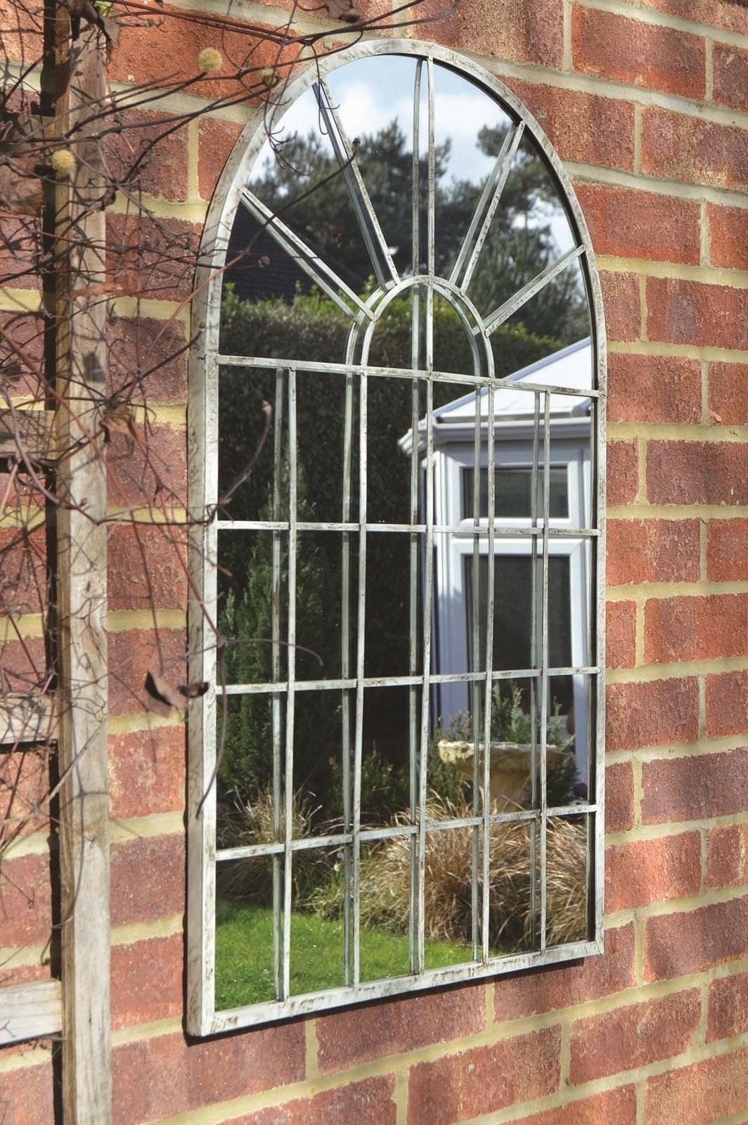 15 Best Ideas Garden Wall Mirrors  Mirror Ideas