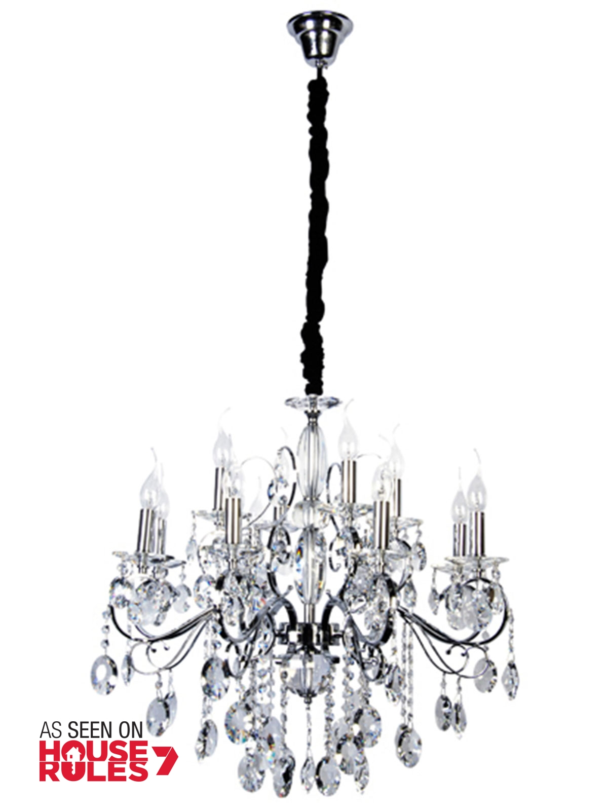 15 Photos Egyptian Crystal Chandelier