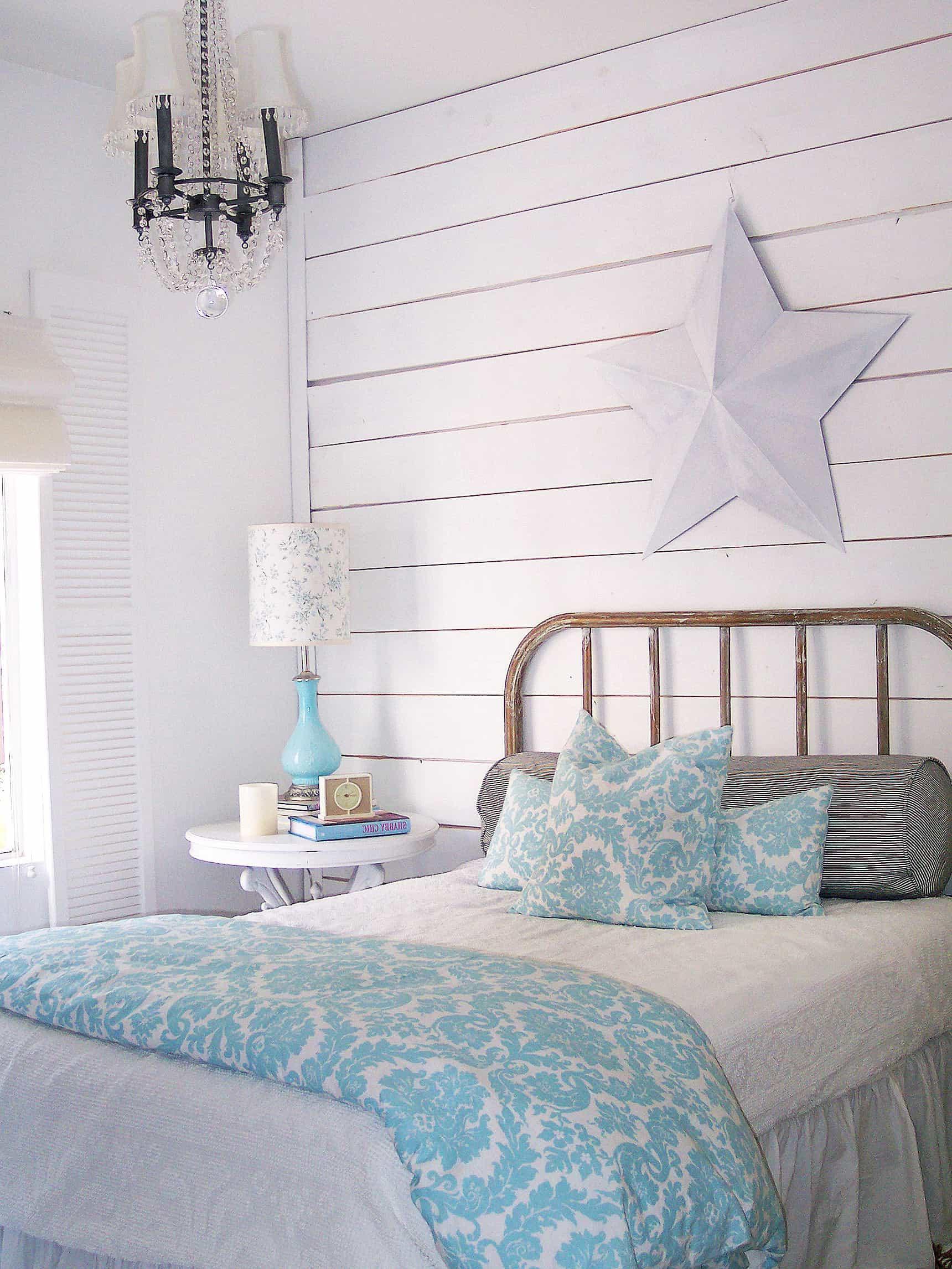 Beach Cottage Shabby Chic Bedroom Ideas