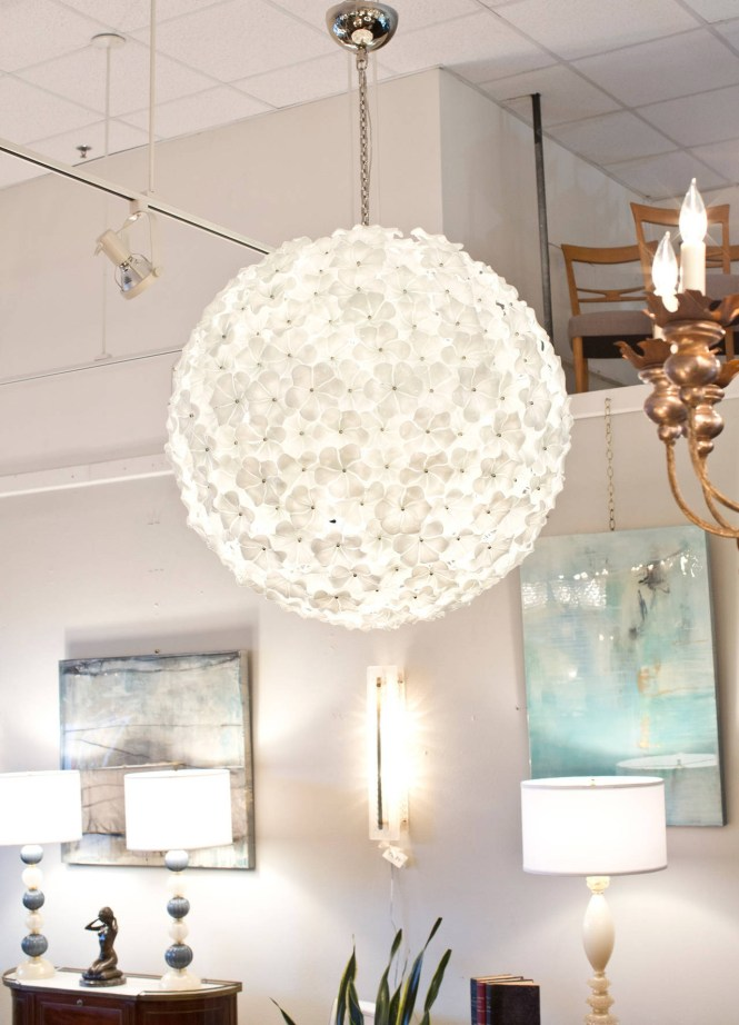 Monumental Murano Glass Flower Chandelier Cenedese In Replica Image 6 Of 15