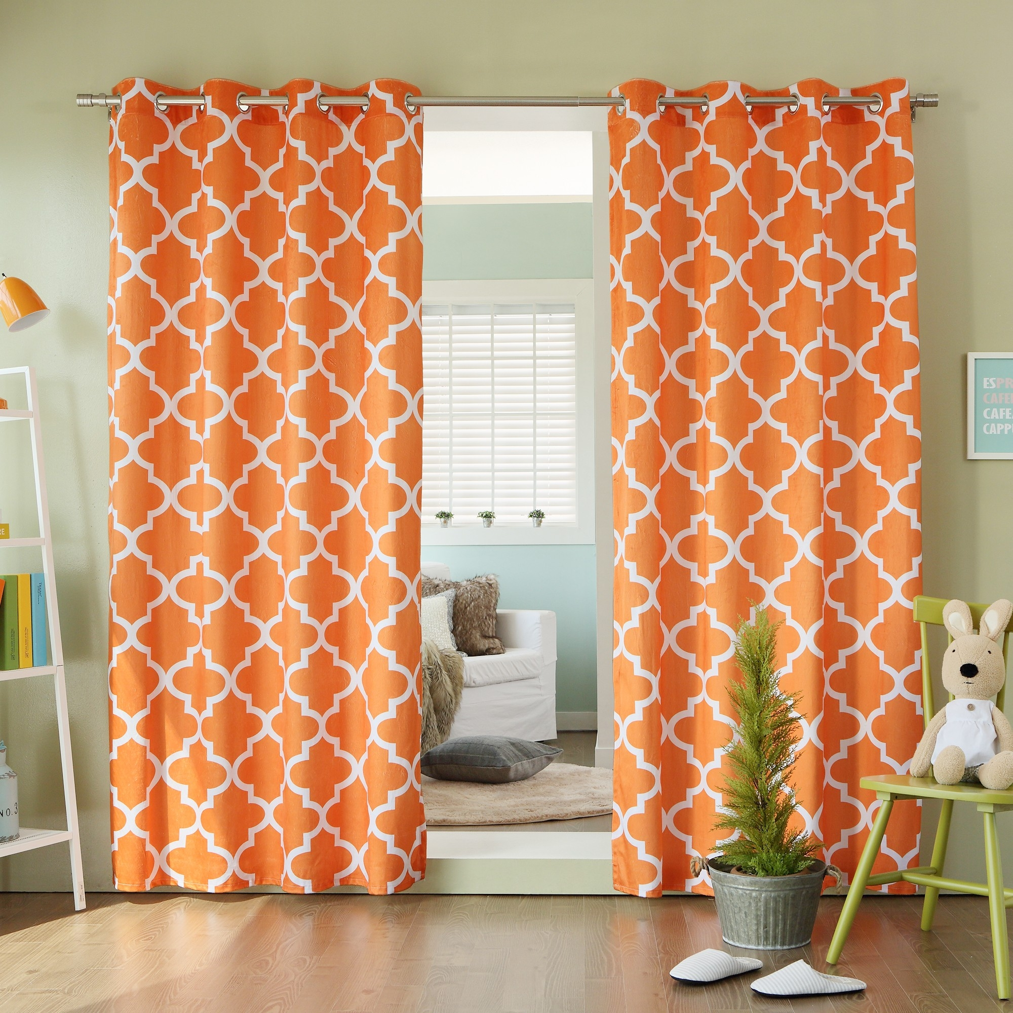 15 Moroccan Print Curtains  Curtain Ideas