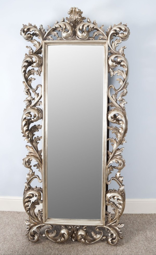 Large Antique Wall Mirror Vintage