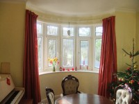 15 Best Ideas Curtains for Round Bay Windows | Curtain Ideas