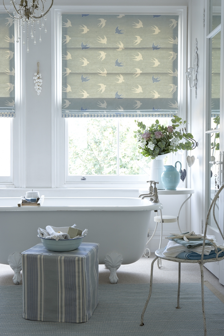 15 Ideas of Bathroom Roman Blinds  Curtain Ideas