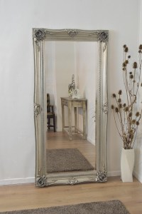 Mirror: Shabby Chic Floor Standing Mirror (#1 of 15 Photos)