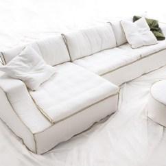 Baxton Studio Dobson Leather Modern Sectional Sofa Half Moon Ideas