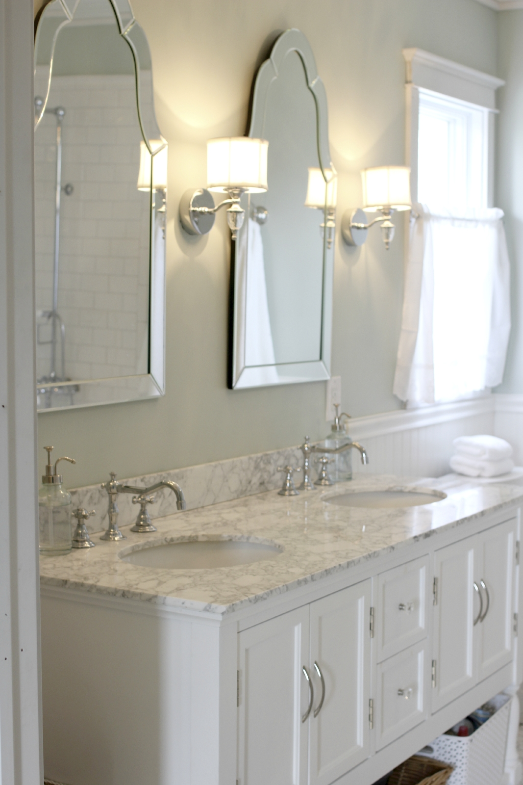 15 Best Collection of Venetian Mirror Bathroom  Mirror Ideas