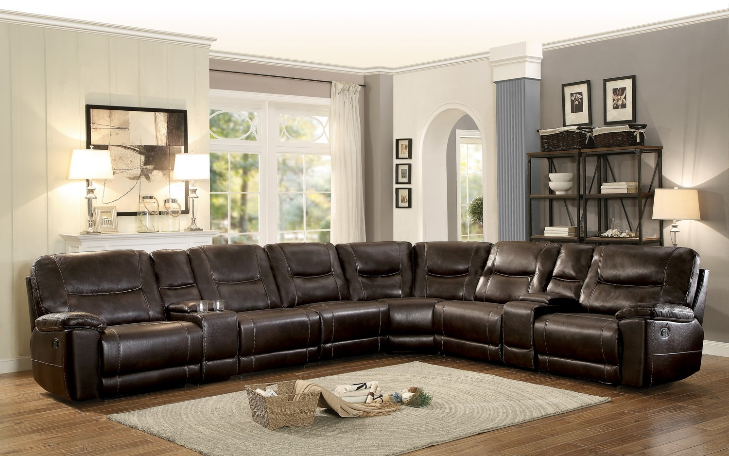 albany industries leather sofa colonial bed sectional ideas