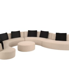White Curved Sectional Sofa Kensington Multi Storage Bed Review 15 Photos Contemporary Sofas | Ideas