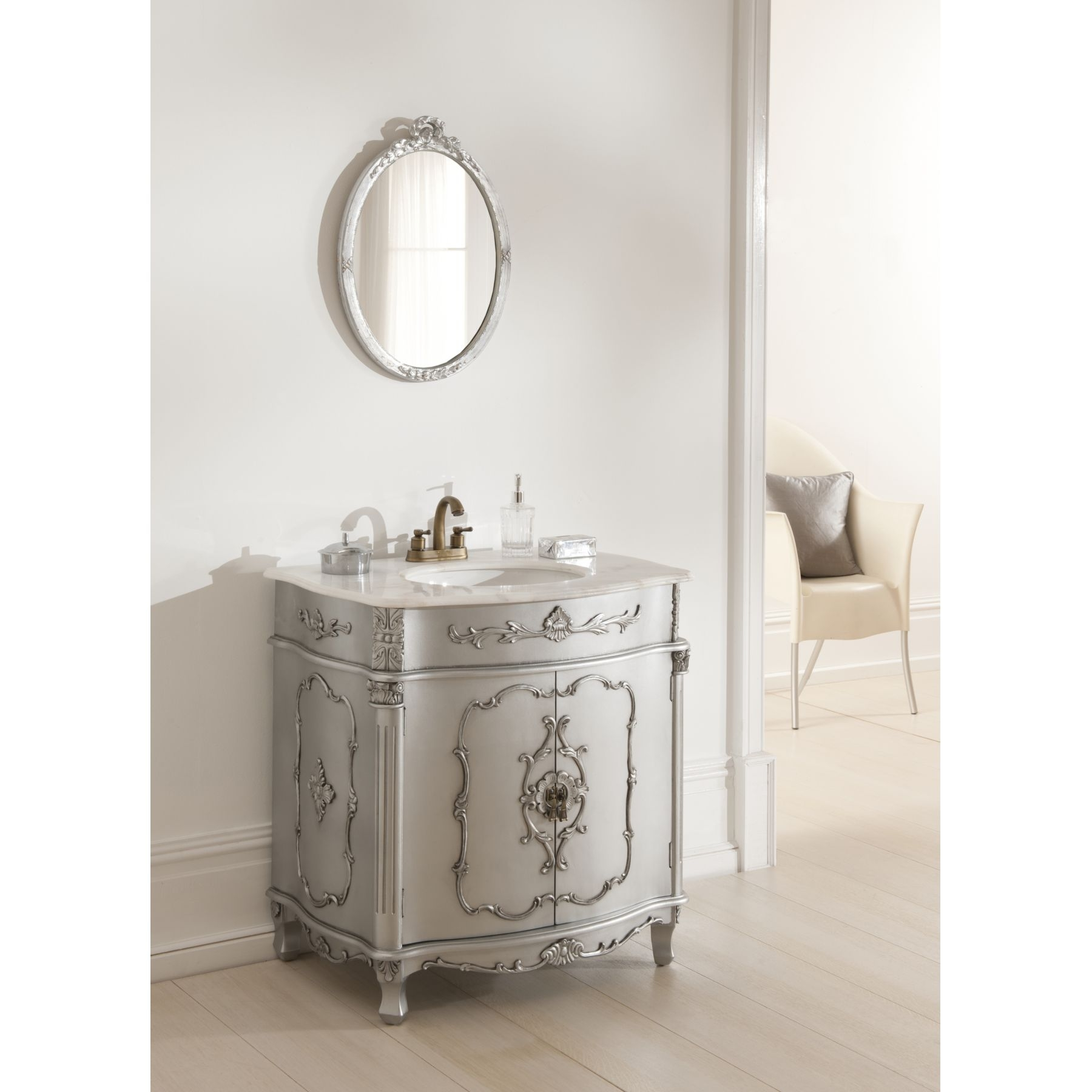 15 Photos Vintage Bathroom Mirrors Sale  Mirror Ideas