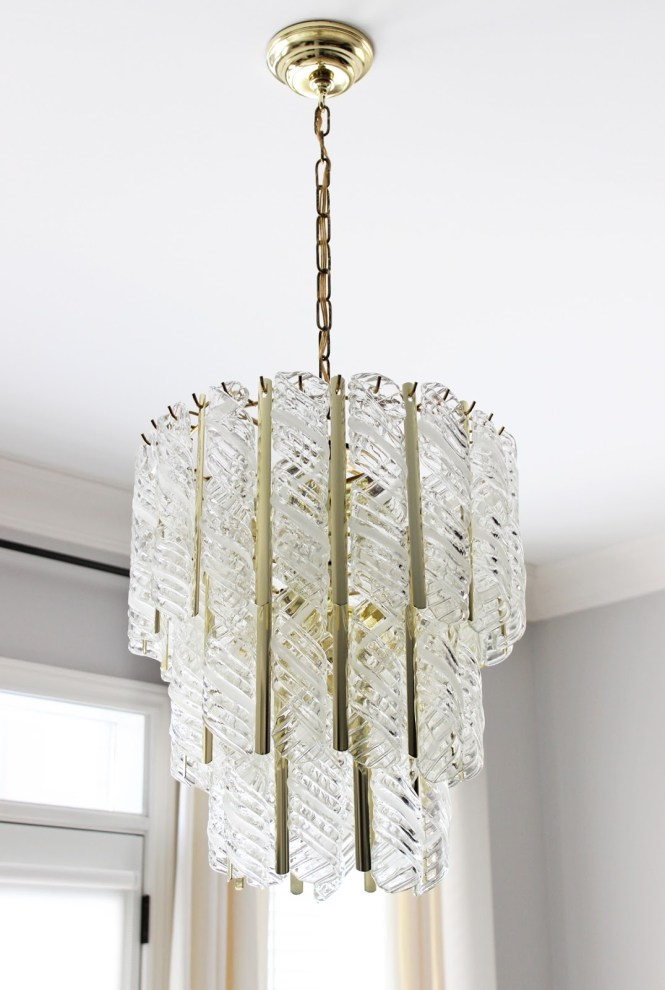 Vintage Venini Murano Glass Chandelier Am Dolce Vita Pinterest Regarding Replica