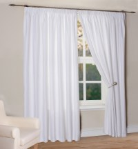 15+ White Curtains With Blackout Lining | Curtain Ideas
