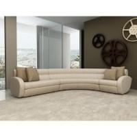 15 Photos Contemporary Curved Sofas   Sofa Ideas