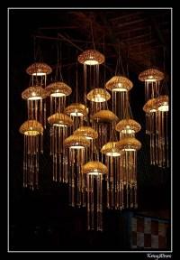 25 Inspirations Jellyfish Inspired Pendant Lights ...