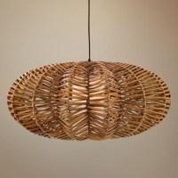 Rattan Pendant Light Fixtures | Pendant Lights Ideas