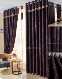 25+ Purple and Gold Curtains | Curtain Ideas