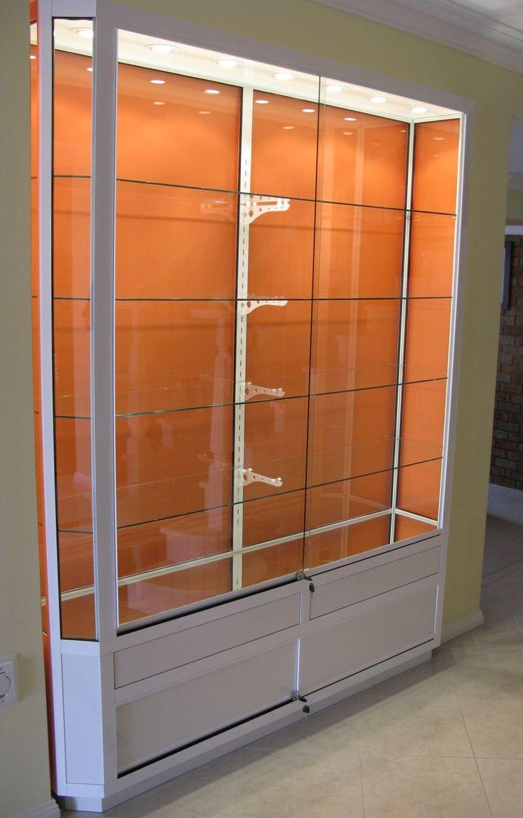 15 Photos Wall Mounted Glass Display Shelves