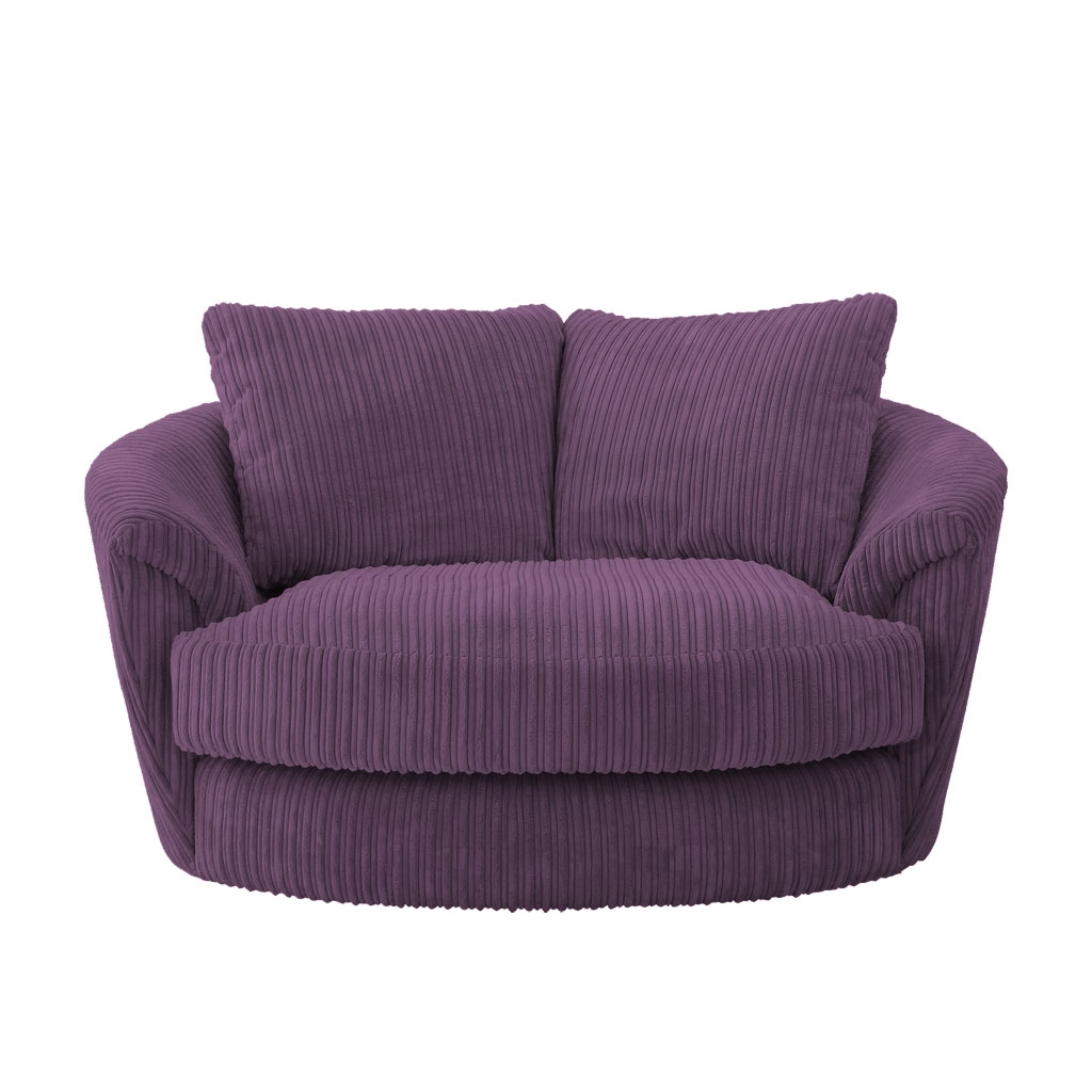 swivel chair disassembly ikea dining covers malaysia 15 best ideas cuddler sofa chairs
