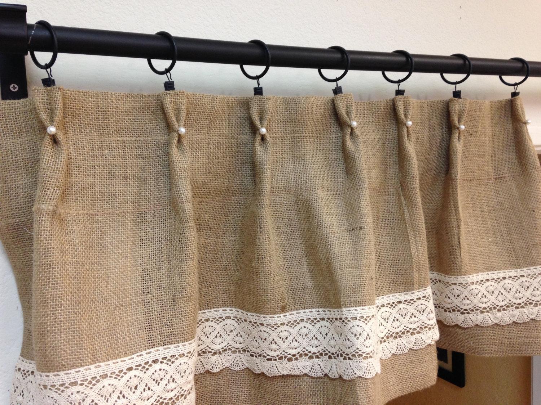 25 Best Ideas Burlap Curtains