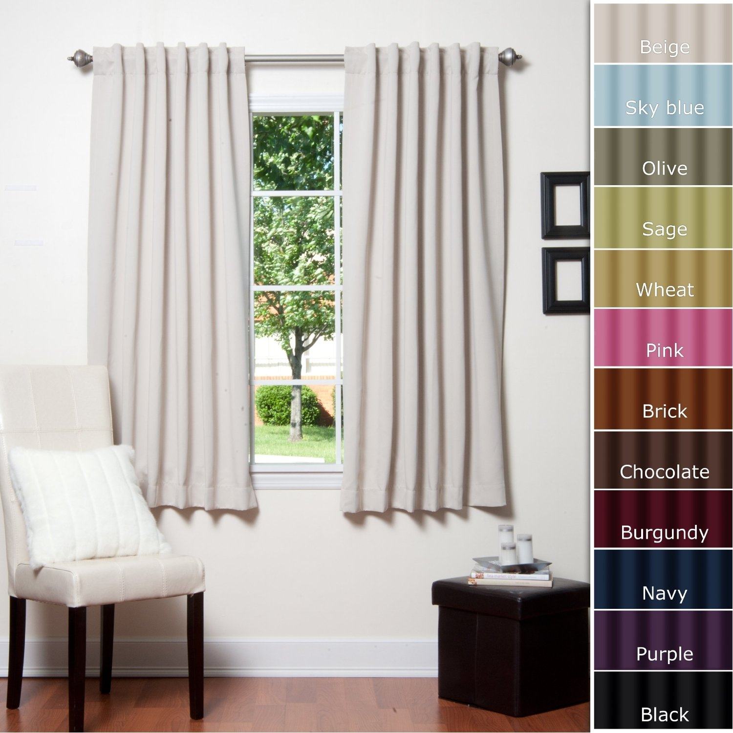 25 Best Ideas Short Brown Curtains  Curtain Ideas