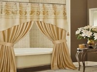 25+ Double Panel Shower Curtains | Curtain Ideas