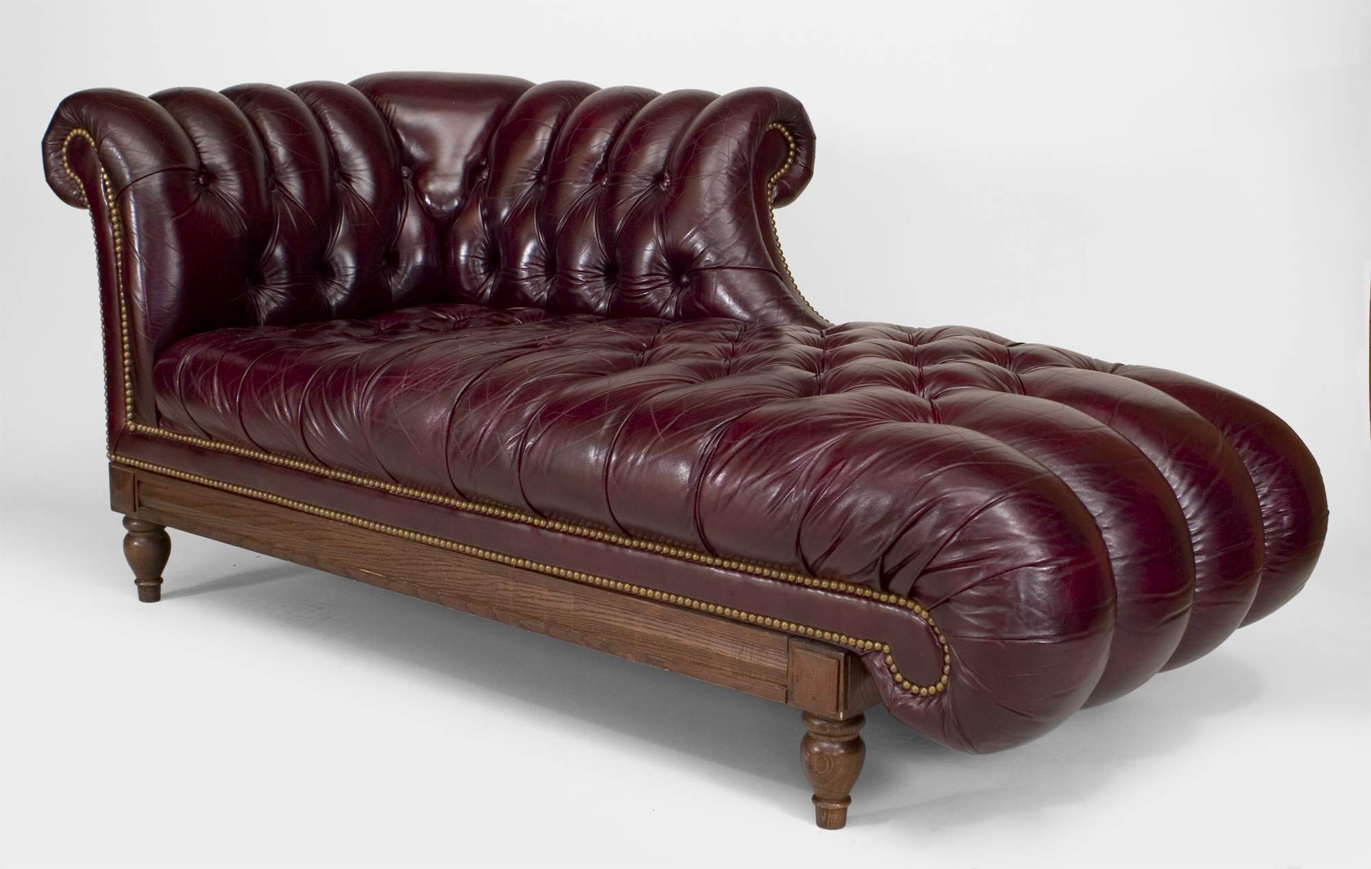 tufted leather sofa with rolled arms fabric chesterfield beds 15 photos victorian sofas ideas