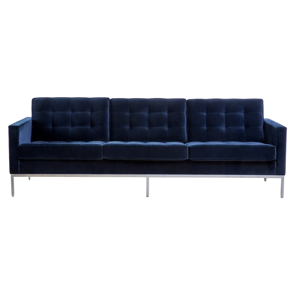 best florence knoll sofa reproduction leather company 15 collection of 3 seater sofas ideas