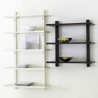 15+ Living Room Glass Shelves | Shelf Ideas