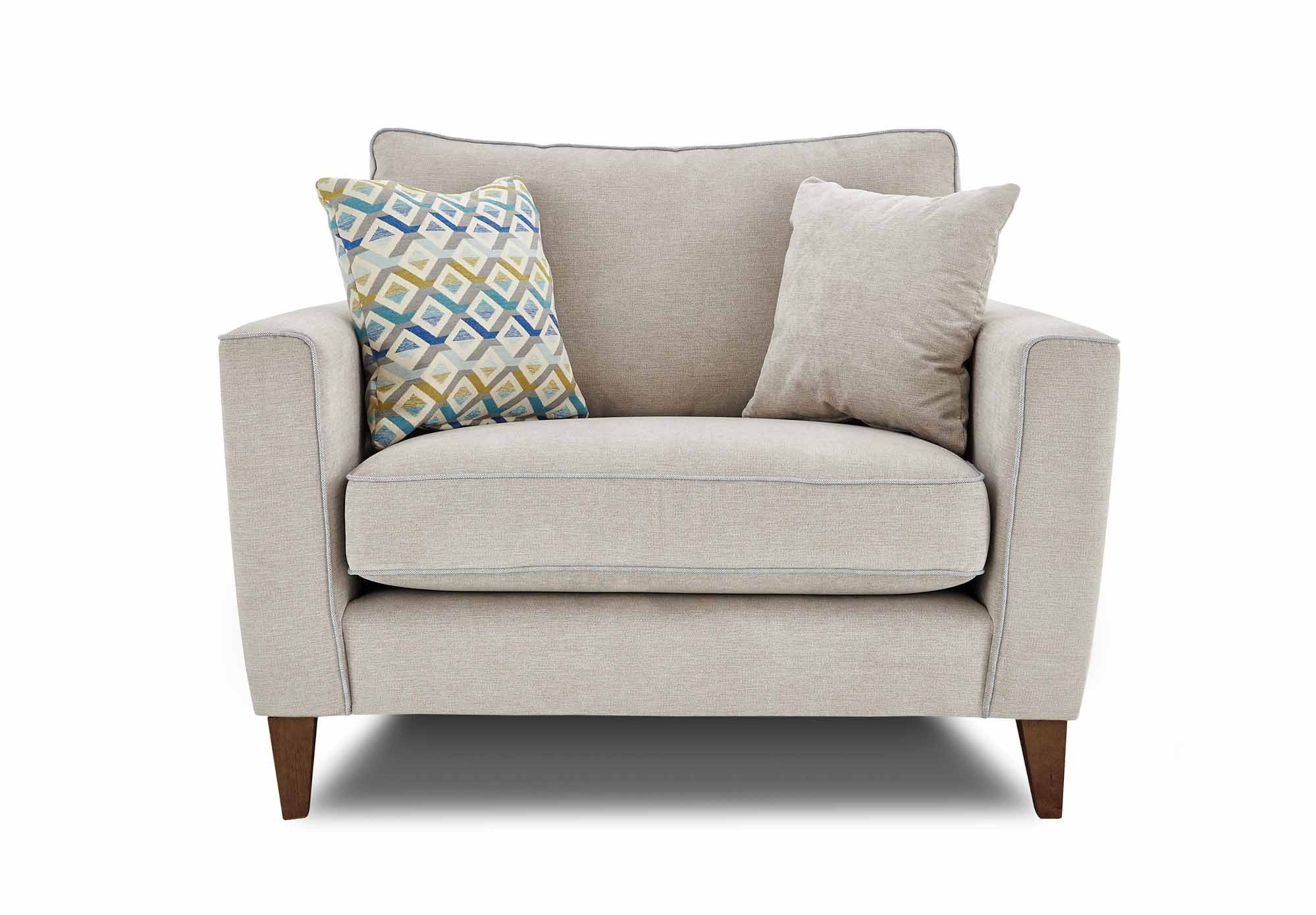 harlow cuddle chair grey bathroom safety shower tub bench 15 inspirations snuggle sofas sofa ideas