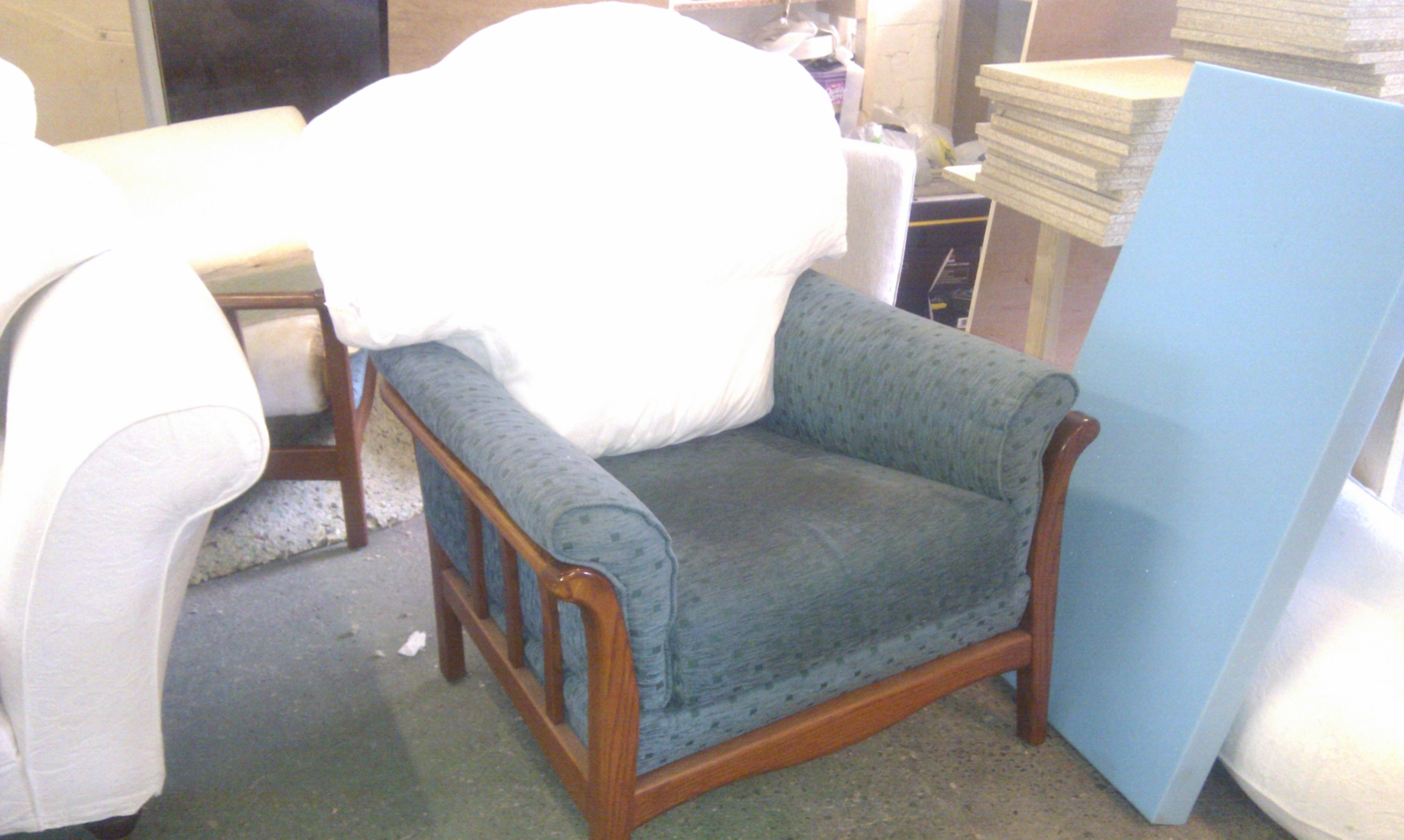 sofa upholstery repair leeds double futon bed india cintique chair covers ideas