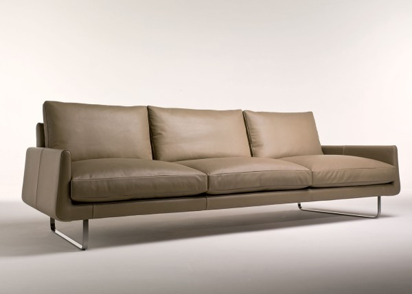 4 Seater Leather Sofa - Year of Clean Water