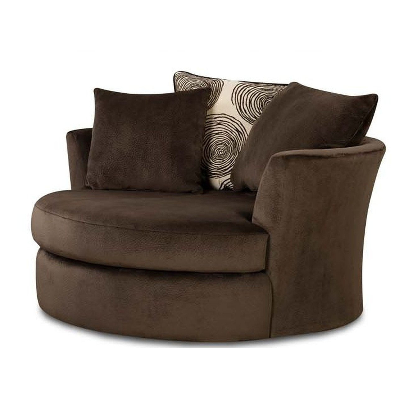 Circle Swivel Chair 15 Collection Of Round Sofa Chair Sofa Ideas
