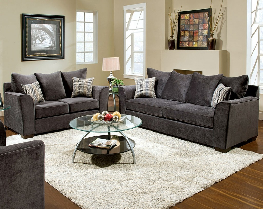 charcoal gray sofa sets toddler chair 4 ways to decorate around your