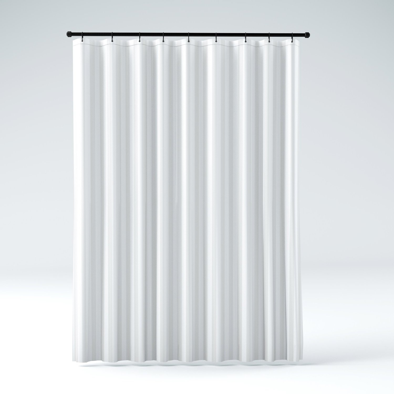 Hookless Fabric Shower Curtain Liner  Curtain Ideas