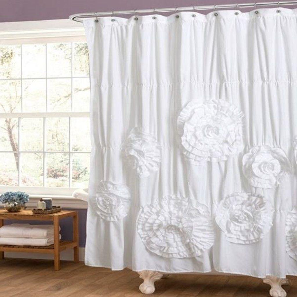 25 Photos White Ruffle Curtains  Curtain Ideas