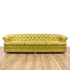 Green Floral Sofa Bunk Bed Price Yellow Chintz Sofas Ideas