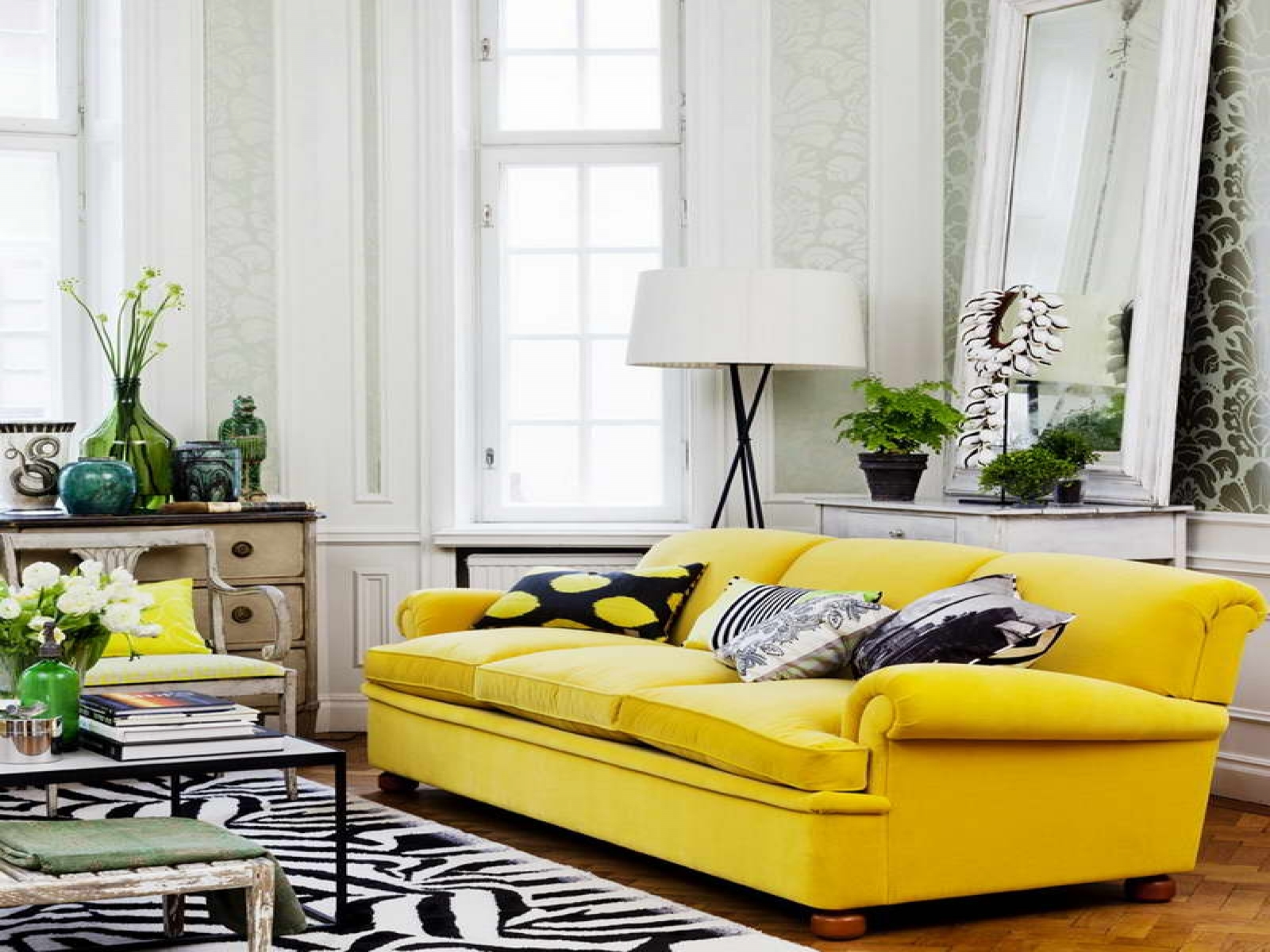 Yellow Living Room Chair 15 Photos Yellow Sofa Chairs Sofa Ideas