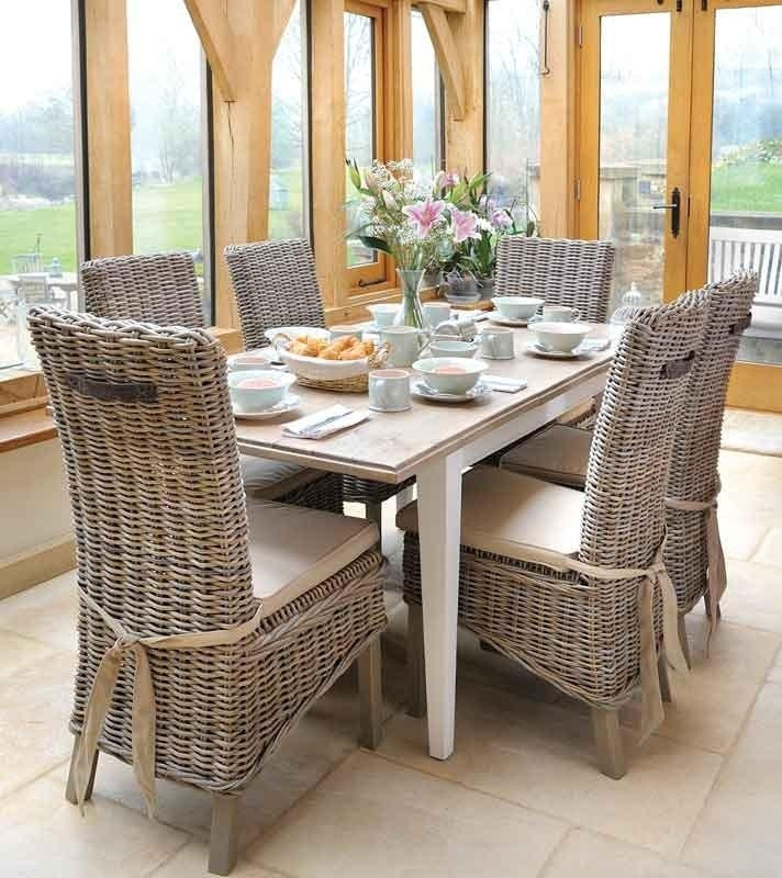 20 Rattan Dining Tables And Chairs Dining Room Ideas