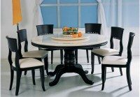 20 Ideas of 6 Seat Round Dining Tables | Dining Room Ideas