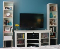 50 Photos TV Stands Bookshelf Combo