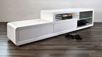 50 Inspirations White High Gloss TV Stands | Tv Stand Ideas