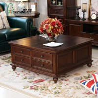 Square Wood Coffee Tables With Storage | Coffee Table Ideas