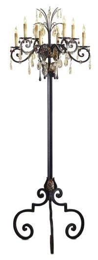 25 Ideas of Standing Chandelier Floor Lamps | Chandelier Ideas