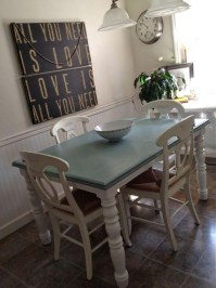 Ivory Painted Dining Tables | Dining Room Ideas