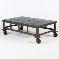 40+ Low Industrial Coffee Tables | Coffee Table Ideas