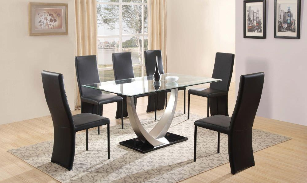 20 Cheap Glass Dining Tables and 6 Chairs  Dining Room Ideas