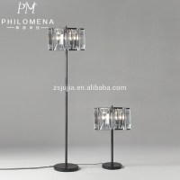 25 Best Collection of Black Chandelier Standing Lamps ...