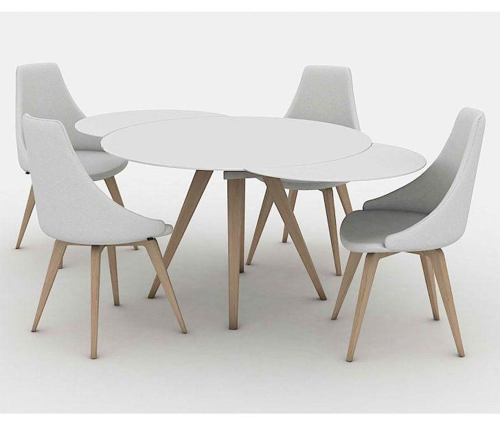 20 Best Collection of White Round Extending Dining Tables