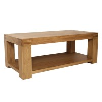 40 Collection of Oak Coffee Tables With Shelf | Coffee ...
