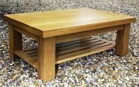 50 Photos Oak Coffee Table With Shelf | Coffee Table Ideas